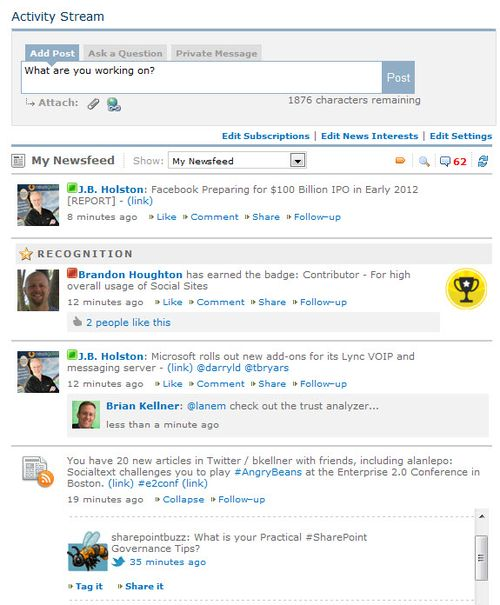 Social-Sites-Activity-Stream