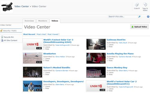 VS - Video Center Community