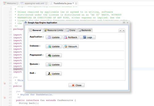 EXo Cloud IDE for Google App Engine