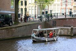 Amsterdam's Beautiful Meandering Canals in Early Summer